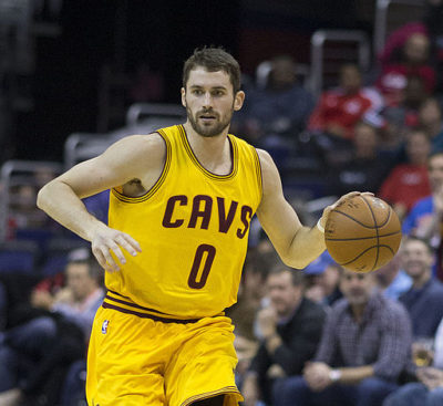 Kevin Love with the Cavaliers